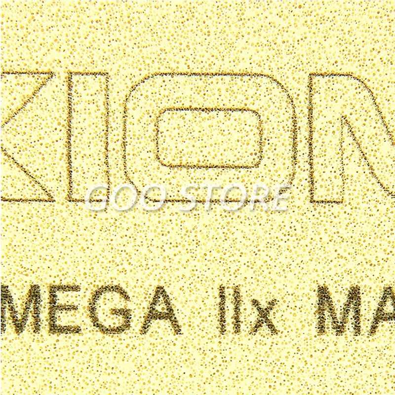 XIOM Омега IIX Настольный теннис резиновая быстро атакующая петля не липкие прыщи с spong пинг понг tenis de mesa