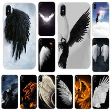 Fallen Angel Wings Fly Mobile Phone Accessories Case for iPhone