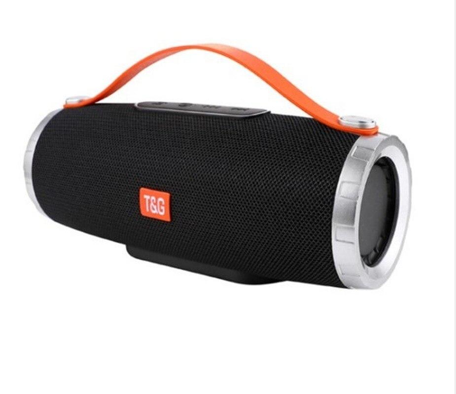 Купить беспроводной bluetooth динамик стерео aux звуковая колонка портативная