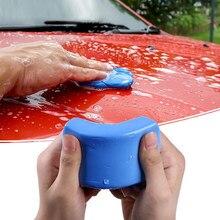 Barra de arcilla azul para limpieza de coche, 100g, limpiador de detalles, limpieza con un clic, compra de barro, Kit de limpieza de guante de arcilla