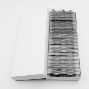 Image 4 - Visofree 40 Pairs/pack 25mm Lashes 3D Mink Lashes Makeup 25mm Mink Lashes Wholesale Fake Eyelashes Dramatic Eyelashes Reusable