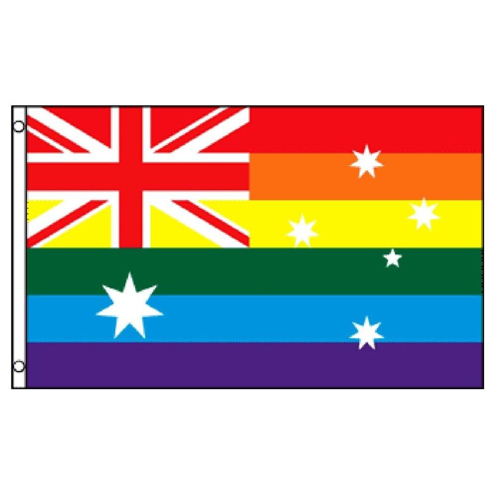 BIG 2x3ft GAY /& LESBIAN PRIDE RAINBOW FLAG  better quality usa seller
