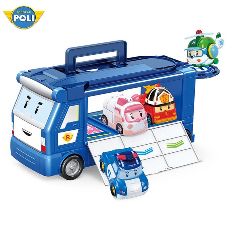 Robocar Poli POACHER Hunter Transformer Robot Truck Car Toy Action Figure Korean