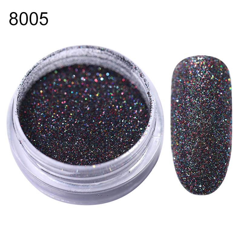 Rose Gold Bubble Mirror Powder Metallic Nail Glitter Holographics Chrome Dust Sparkling Flakes Pigment Manicur Nail Art Decor 49
