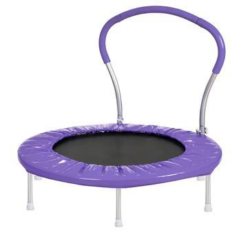 【USA w magazynie】 36 Cal trampolina z uchwytem fioletowy meble Dropshipping tanie i dobre opinie Nowoczesne Meble do salonu Szezlong Meble do domu