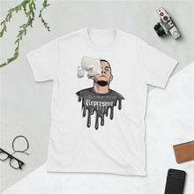 men cotton t-shirt Nate Diaz Smoke - Short-Sleeve Men T-Shirt White Summer Style Casual Wear Tee Shirt(China)