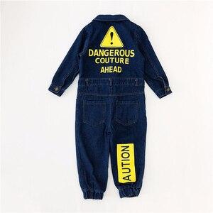 Image 5 - CNFSNJ 2020 นุ่ม DENIM เด็ก Romper Graffiti ทารกแรกเกิดเสื้อผ้า Jumpsuit เด็กทารกเด็กหญิงเครื่องแต่งกายคาวบอยแฟชั่นกางเกงยีนส์เด็ก
