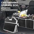 Органайзер для багажника автомобиля, складной ящик для хранения с ручкой, Автомобильный задний багажник, складной многофункциональный 40 л ...