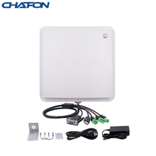 Chafon 5 meter rfid uhf reader ip66 waterproof 865~868mhz rs232 wg26 relay free SDK for car parking and warehouse management