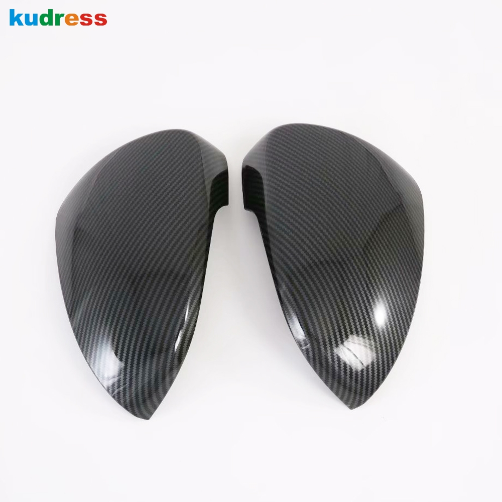 For <font><b>Hyundai</b></font> Tucson 2016 2017 2018 <font><b>2019</b></font> 2020 ABS Chrome Shiny Side Door Rearview Mirror Wing Cover Trim Auto Accessories 2pcs image