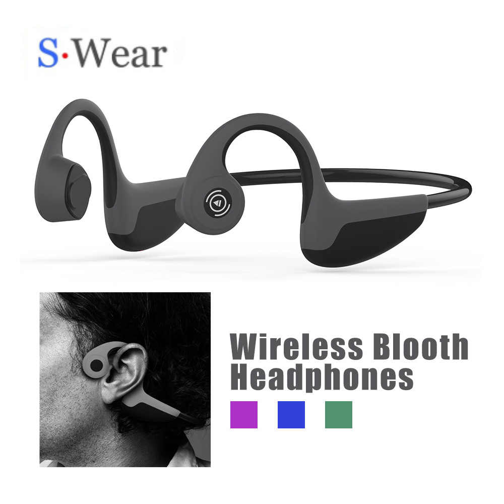 Drop Pengiriman Z8 Tulang Konduksi Headphone Wireless Earphone Bluetooth 5.0 Tulang Konduksi Headset Nirkabel Olahraga Earphone