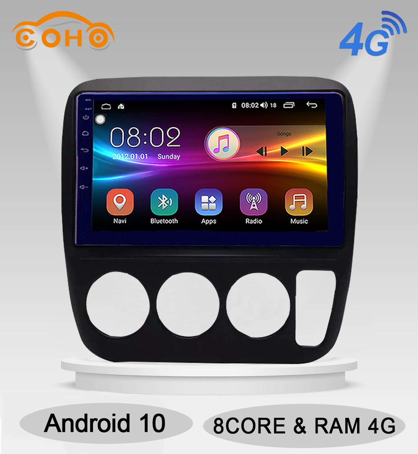 Crv Android 10.0 Octa Core 4+64G Gps Navigation Stereo Radio Android For <font><b>Honda</b></font> <font><b>Cr</b></font>-<font><b>V</b></font> <font><b>1997</b></font>-2006 image