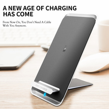 10W Wireless Charger Stand For Samsung Fast Charging Station For iPhone Xiaomi Huawei Mobile Phones Charging Dock USB C Charger