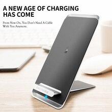 Support de chargeur sans fil 10W pour Station de charge rapide Samsung pour iPhone Xiaomi Huawei téléphones mobiles chargeur de USB C de quai de chargement