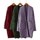 Women Cardigan Knitt...