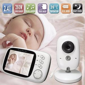 Image 1 - VB603 Video Baby Monitor 2.4G Wireless with 3.2 Inches LCD 2 Way Audio Talk Night Vision Surveillance Security Camera Babysitter