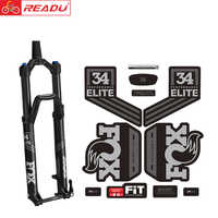 2018-fox34 PERFORMANCE elite front fork sticker bicycle accessories mtb bike fork decal