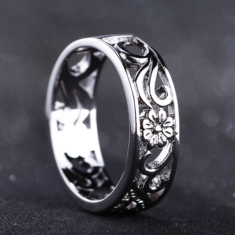 Bague Ringen Top Brand 925 Silver Jewelry Rings For Women Anniversary Circle Couple Ring Size 6-10 Wholesale Fine Jewlery Gifts(China)