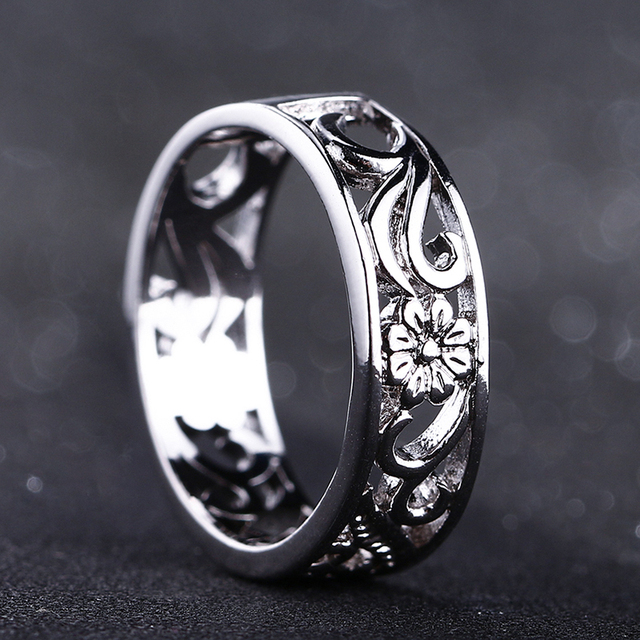 Bague Ringen Top Brand 925 Silver Jewelry Rings For Women Anniversary Circle Couple Ring Size 6-10 Wholesale Fine Jewlery Gifts 2