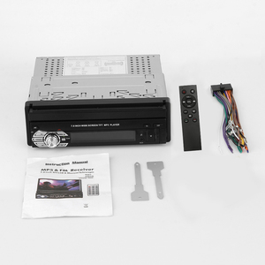 """Image 5 - 7 """"katlanır dokunmatik ekran araba Stereo MP5 oynatıcı RDS AM FM radyo 4.0 multimedya Video oynatıcı desteği USB/TF/AUX kafa birimi"""