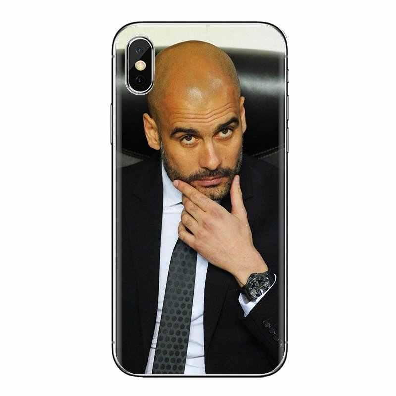 สำหรับ Oneplus 3T 5T 6T Nokia 2 3 5 6 8 9 230 3310 2.1 3.1 5.1 7 Plus 2017 2018 World ฟุตบอล Coach Pep Guardiola ซิลิโคน