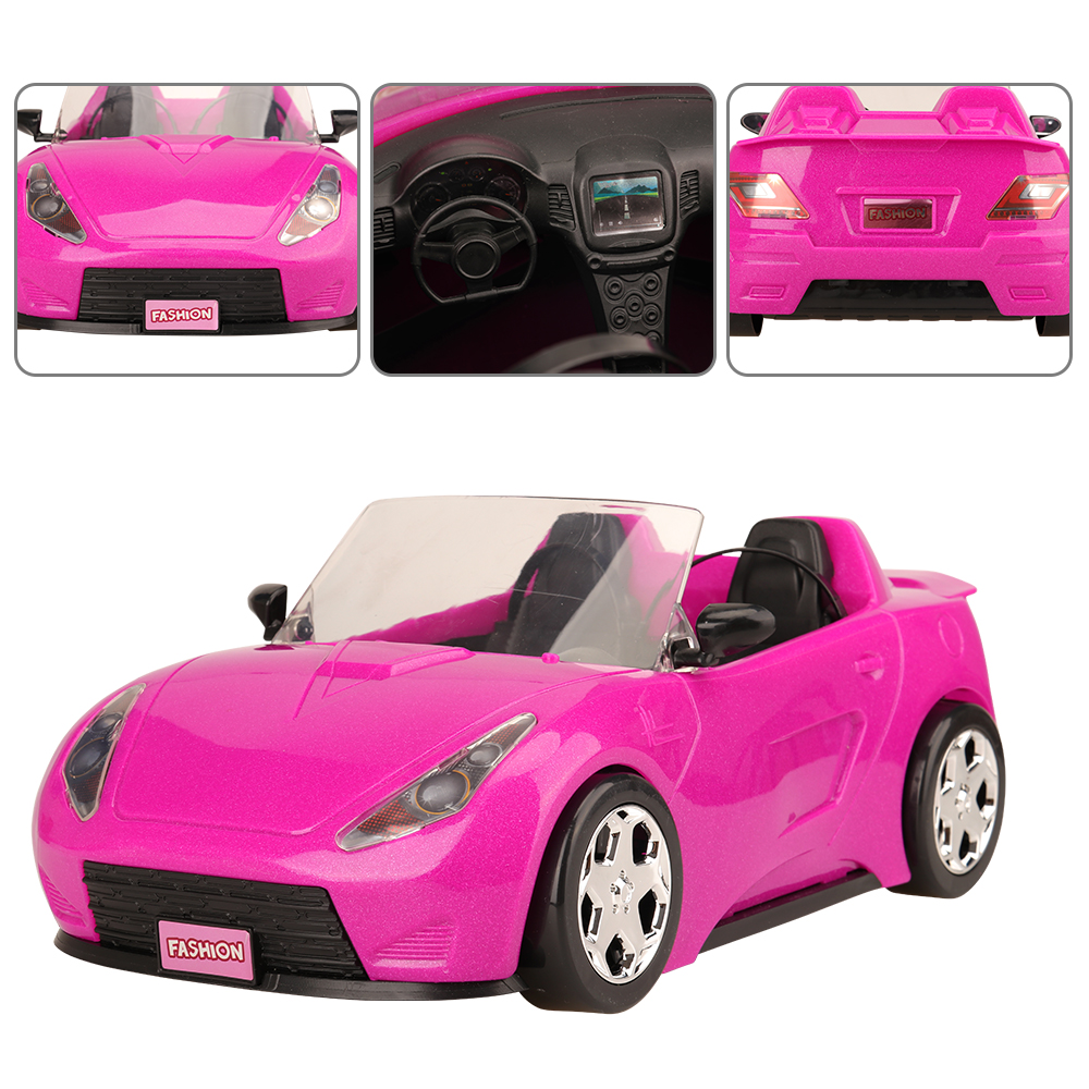 Newest Fashion Handmade High Quality Top Sale Car Toy Doll Accessories Clothes Shoes Baby Cars For Barbie Doll Toys For Children