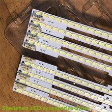 4 unidades/lote tira de LED para iluminación trasera lámpara UE55D6100 2011SVS55 FHD 5K6K RIGHT LTJ550HW03 JVG4 550SMB R1, novedad de 100, 680MM