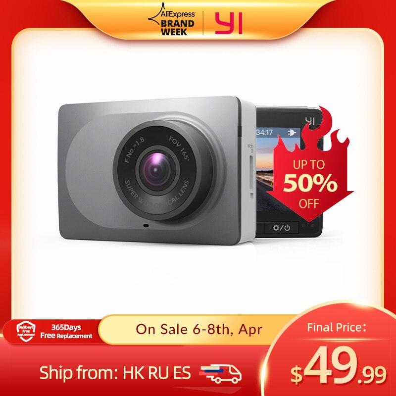Видеорегистратор YI Smart Dash Camera HD   Беспроводное подключение Wi-Fi  Угол обзора 165 градусов   Запись видео 1920×1080 при 60 к/с   Ночной режим   Хранение д...