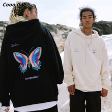 CoooColl Hoodies Winter Pullover New Quality HIPHOP 19FW BUTTERFLY HOODIE ASAP ROCKY streetwear Highstreet MENS Women