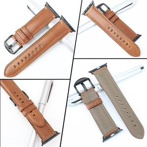 Image 3 - MAIKES For Apple Watch Band 44mm 40mm  iWatch Series 4 3 2 1 Apple Watch Band 42mm 38mm leather loop Watch Accessories Bracelet