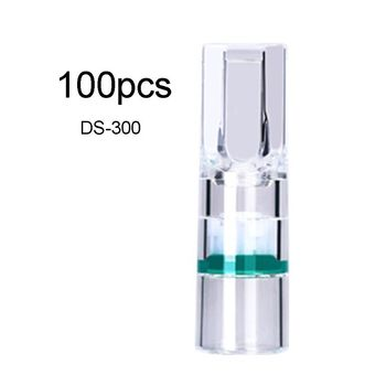 100PCS DS-300/DS-200 Disposable Cigarette Filter Tobacco Smoking Pipe Mouthpiece Filter Cigarette Holder Accessories