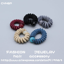 CYHGM girls hair accessories para el cabello for women fascinator elastic hair bands hairband scrunchie pack turban femme c094
