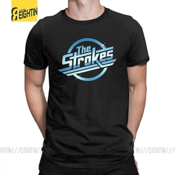 The Strokes T Shirt Men Albert Hammond Jr. Funny T Shirt Summer 100% Cotton Cool Tee Male Plus Size Clothing Loose Tee Shirt