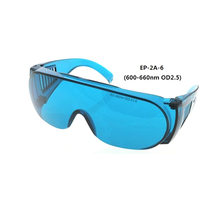 EaglePair 600-660 нм OD2,5-3,0% 2B Anti-red Light +EP-2A-6 Wide-Spectrum Continuous Absorption Laser Protective Glasses