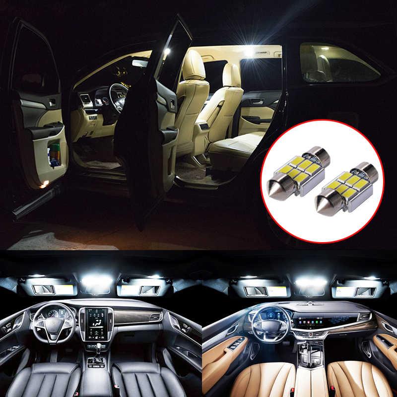 5 個のエラーフリーの自動電球の車のインテリア照明キットホワイト読書ランプ用の屋内照明マツダCX-5 CX5 cx 5 2012-2018 2019