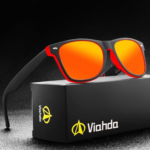 Viahda ماركة الاستقطاب النظارات الشمسية الرجال القيادة نظارات شمسية للنساء Hot البيع جودة حملق نظارات الرجال Gafas دي سول