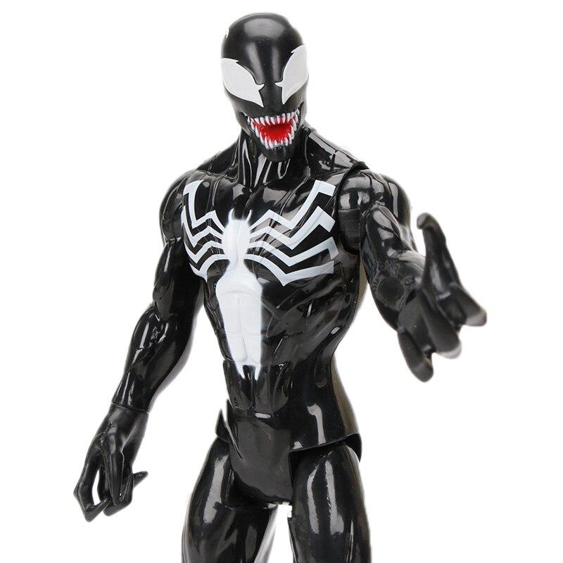 Toy Doll Collectible-Model Venom-Figure Titan Hulk Hero-Series 30cm Spider-Man 12inch