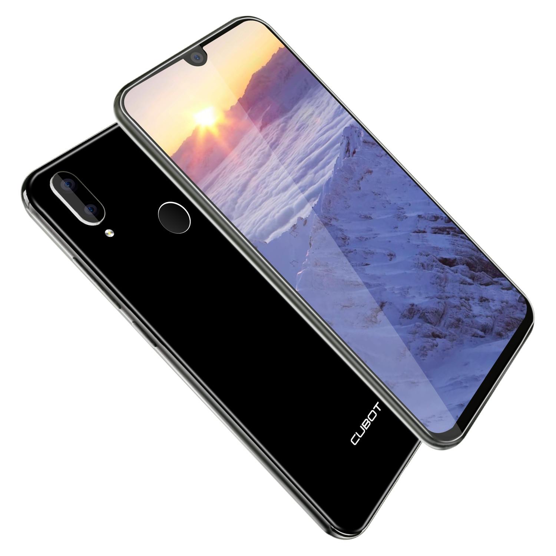 Cubot R19 3 ГБ + 32 Гб Смартфон 5,71 ''Android 9,0 четырехъядерный отпечаток пальца капли воды экран лицо ID мобильный телефон - 3
