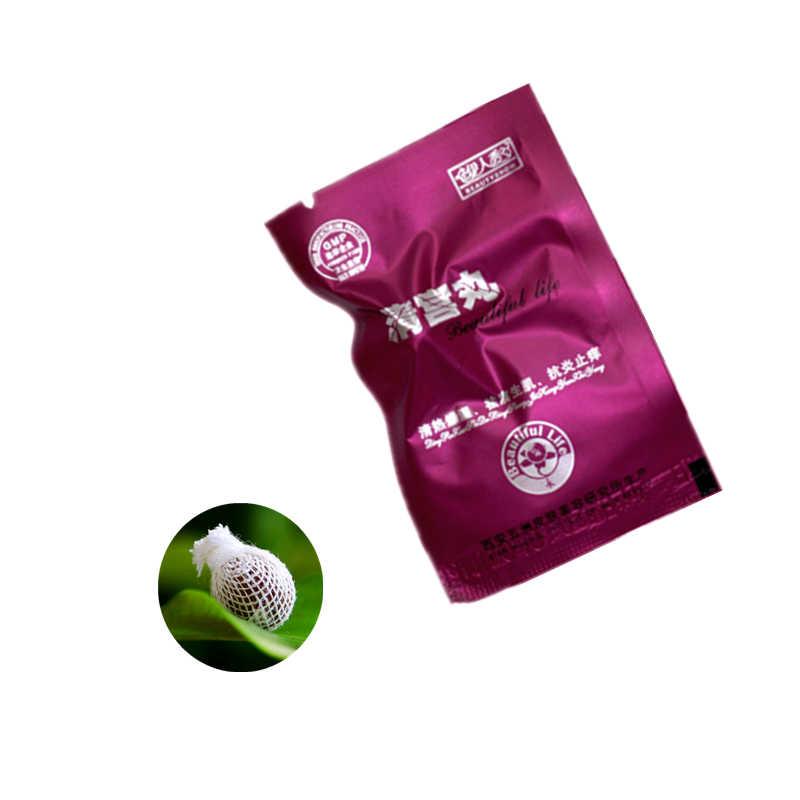 500pcs Cinese naturale di erbe vagina femminile detox pulizia tampone per la femmina della vagina salute cura Yoni detox perla