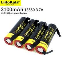 10 قطعة LiitoKala Lii 31S 18650 بطارية 3.7V/4.2V ليثيوم أيون 3100mA 35A الطاقة بطارية قابلة للشحن عالية استنزاف الأجهزة + DIY النيكل