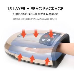 Image 4 - مُدلك يدوي ساخن معدات العلاج الطبيعي جهاز تدليك النخيل ضغط الهواء جهاز تدليك الاصبع