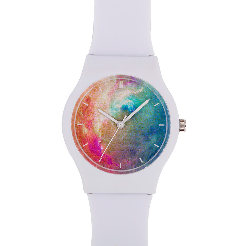 Korean Version Of The Starry Fashion Student Waterproof Simple Watch Concept Cute Children\'S Quartz Watch