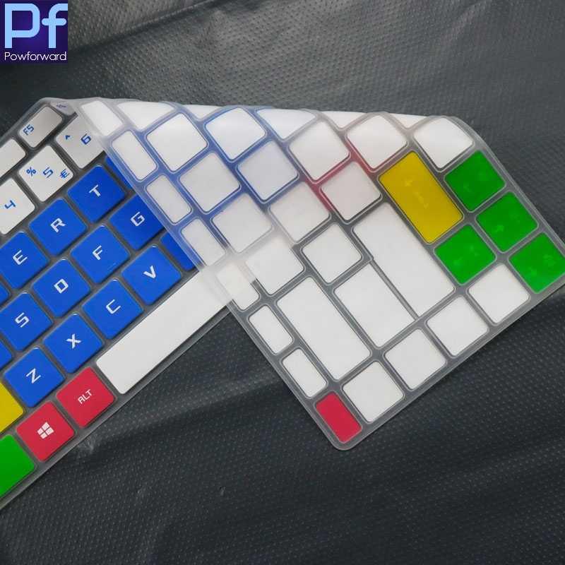 Funda para Teclado de Ordenador port/átil MSI GF63 P65 PS42 PS63 GS65 GF 63 P 65 PS 63 GS 65 8RD 8RE 8RB 8RCX Gaming Size Blanco.