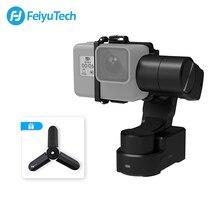 FeiyuTech WG2X สวมใส่ติดตั้งกล้อง Gimbal Splash proof Stabilizer สำหรับ GoPro HERO 7 6 5 4 SONY RX0 action กล้อง