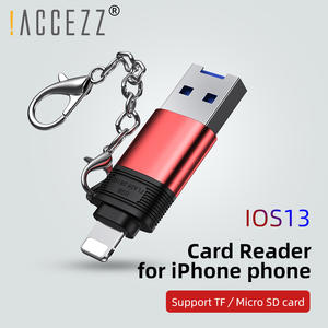Card-Reader Usb-Adapter iPad ACCEZZ iPhone 11 IOS13 Tf/micro-Sd Plus for Pro-X-Xs Max/8-7/6-5/Plus