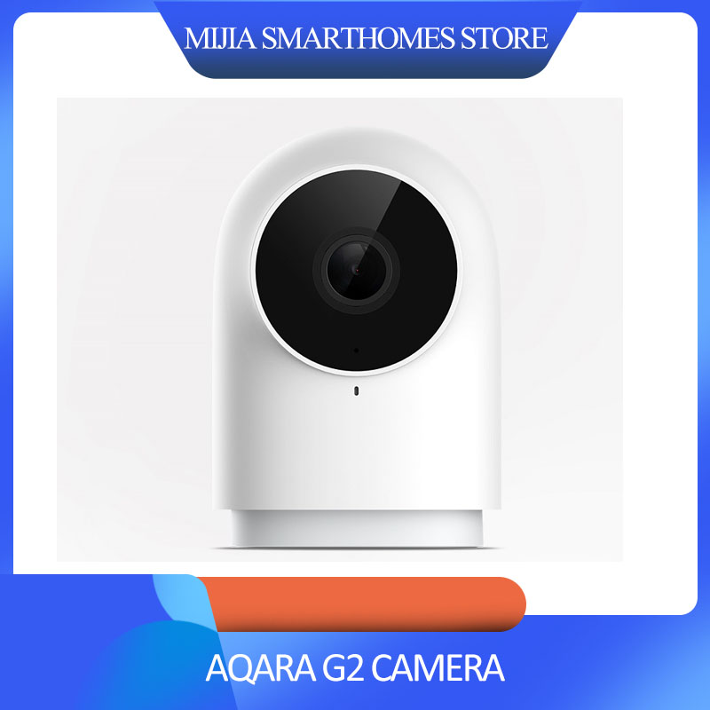 Original Xiaomi Mijia Aqara Smart Camera G2 Work With APP Voice Call Zigbee Alarm USB Cable Mi Cam For Xiaomi Smart Home