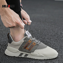 Damyuan 2020 Men Sports Sneakers Shoes Breathable Men's Running Shoes Red Lightweight Sneakers Comfortable Casual Shoes damyuan usps flat shoes women running shose womens flats casual lightweight comfortable breathable women sports shoes sneakers