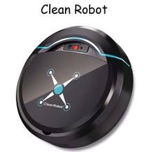 Бытовой мини пылесос с автоматическим поворотом умный робот