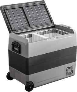 36L 50L 60L12V 24V Portable Car Refrigerator Outdoor Camping Refrigerator Household Refrigerator Quick Cooling Refrigerator