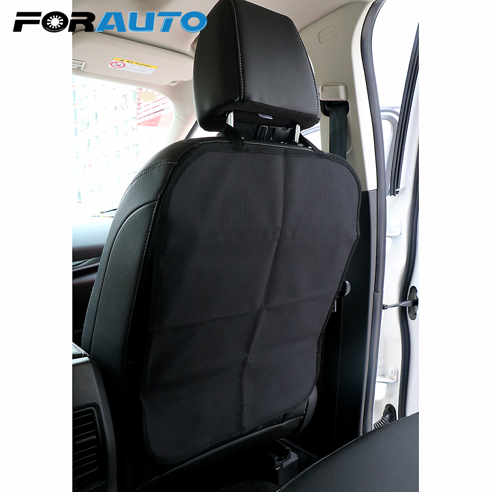 FORAUTO Car Anti Child Kick Pad Seat Back Cover Protector Anti Dirt Mud Mat From Children Baby Kicking Auto Seat Cover Protector